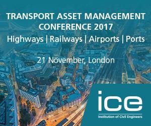 Transport Asset Management Conference 2017 - ICE, London | ADEPT